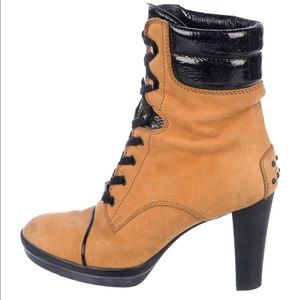TOD'S Suede Ankle Boots Size: 10   IT 40